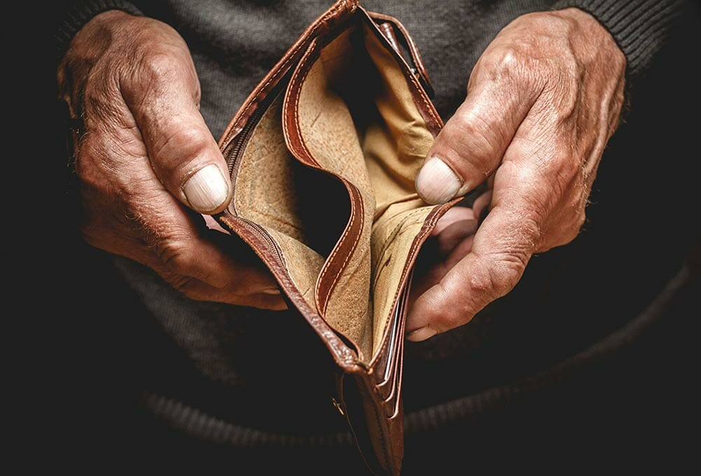An Empty Wallet In The Blog Labor's Franking Credit Policy