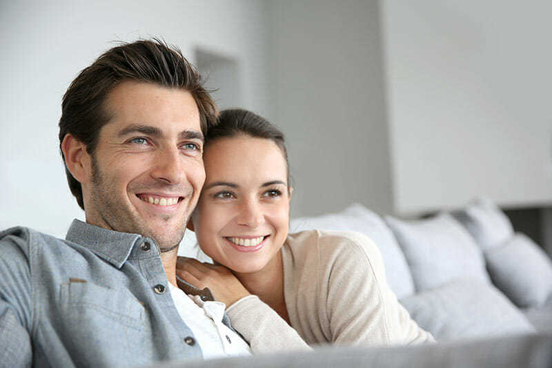 A Young Couple Getting The Benefit Of Ongoing Advice