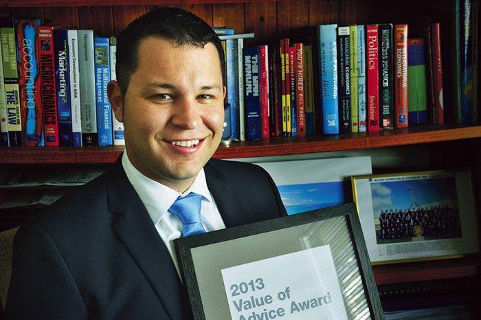 Elliot's State Award