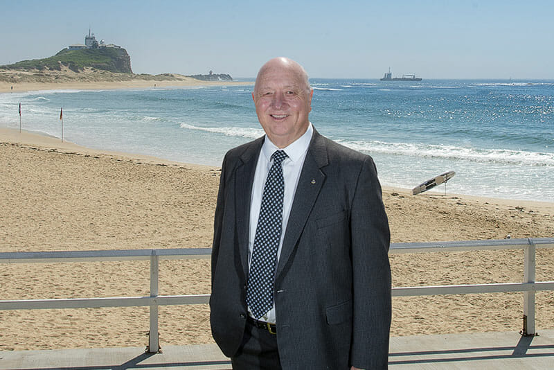 Gary Watson Standing By The Beach