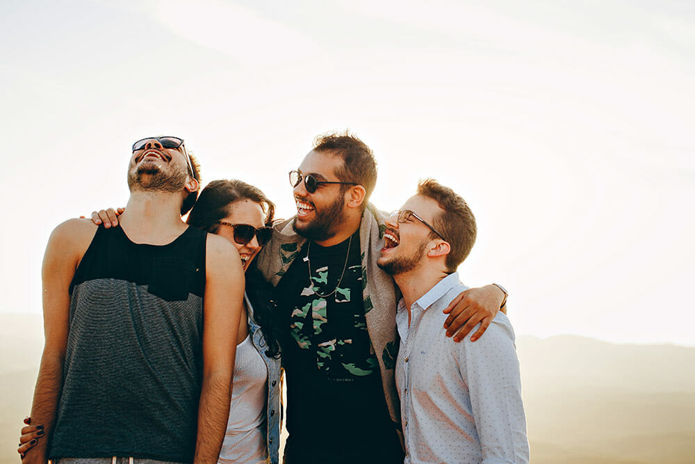 What I wish I knew about money at 18 with a woman and three men wearing beards
