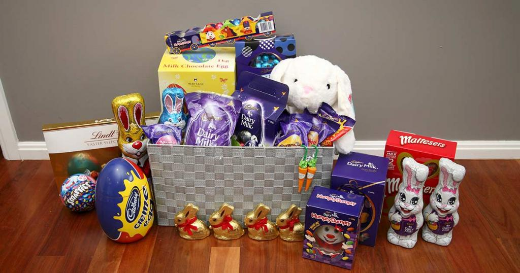 Competition Hamper of Easter Eggs