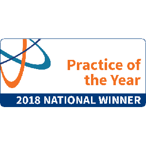 Practice of the Year 2018 logo