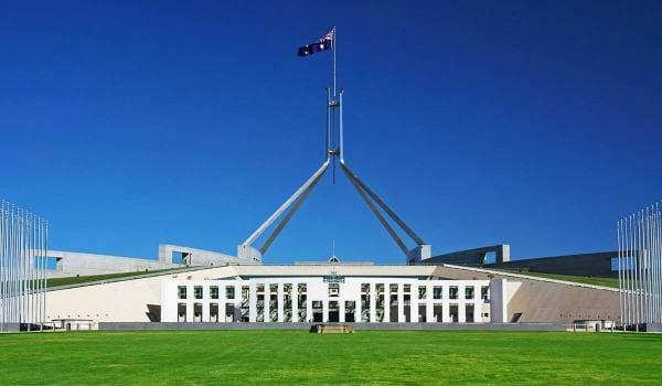 Federal Budget 2020-21 Review Building Against Blue Sky