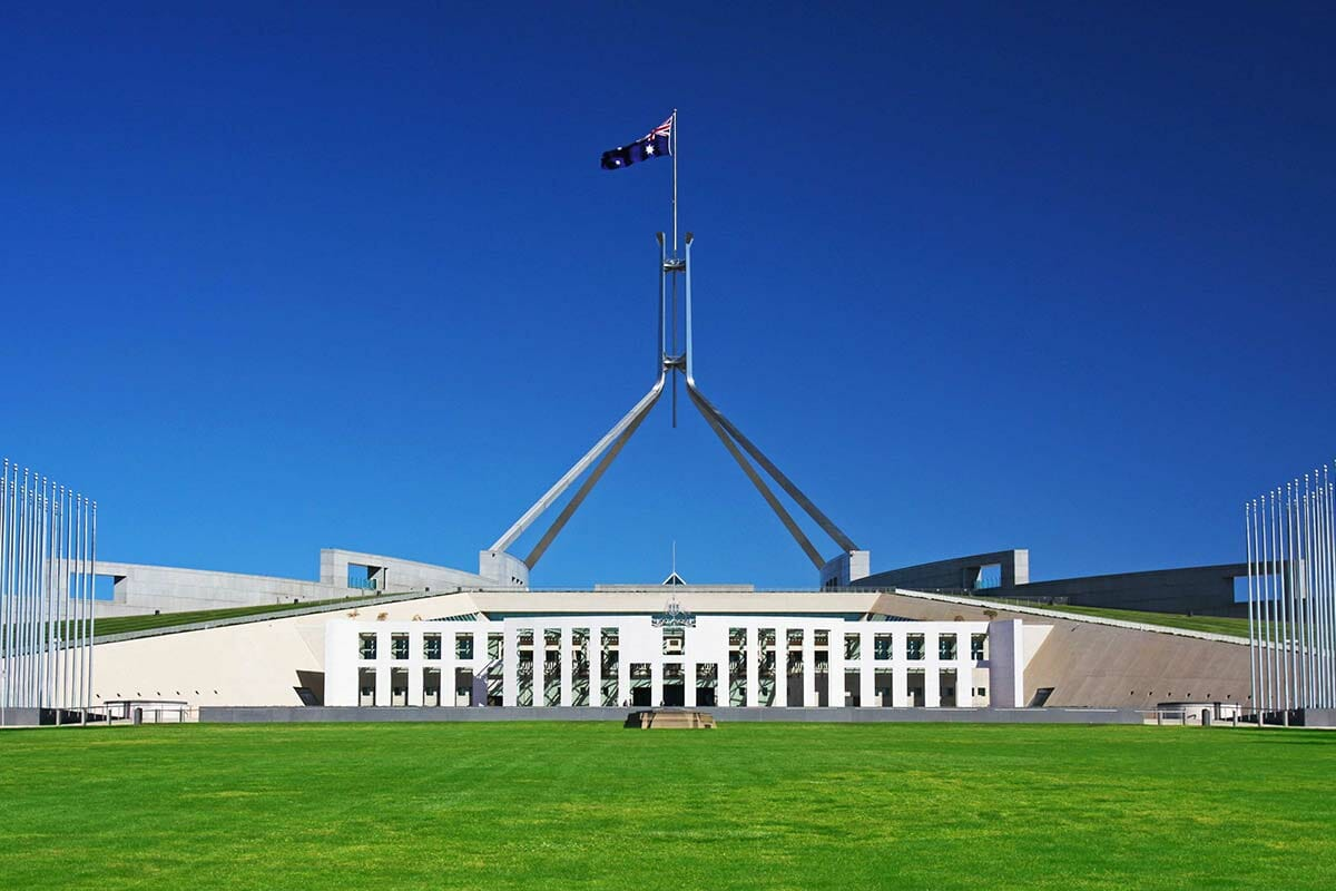 Federal Budget 2020-21 Review Building Against Blue Sky