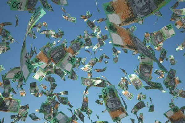 Lump Sum Of Money Fall From The Sky