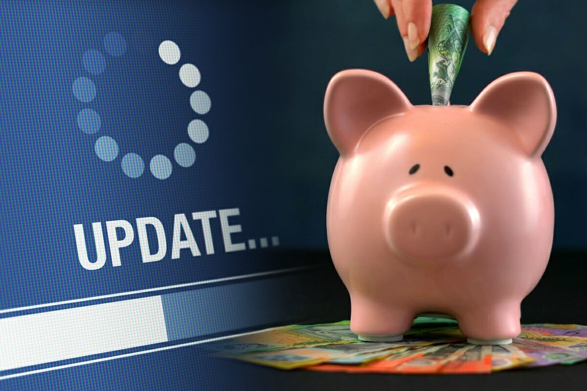Piggy Bank Representing Changes To Superannuation